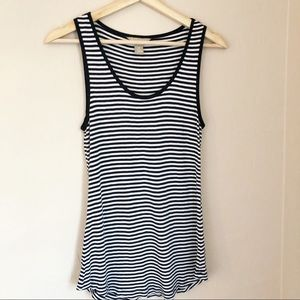 🌻5/$25 {Banana Republic} Navy Striped Tank {XS}